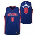 Andre Drummond - Adolescentes Detroit Pistons Nike Icon Swingman Camiseta de la NBA Barcelona