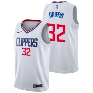 Blake Griffin #32 - Hombre Los Angeles Clippers Nike Association Swingman Camiseta de la NBA Venta españa