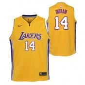 Compra Brandon Ingram - Adolescentes Los Angeles Lakers Nike Association Swingman Camiseta de la NBA a Precios Bajos