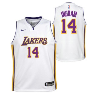 Rebajas en Brandon Ingram - Adolescentes Los Angeles Lakers Nike Icon Swingman Camiseta de la NBA Madrid