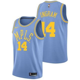 Brandon Ingram - Hombre Los Angeles Lakers Nike Classic Edition Swingman Camiseta Venta a Precios Más Bajos