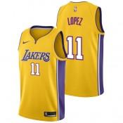 Brook Lopez - Hombre Los Angeles Lakers Nike Association Swingman Camiseta de la NBA Baratas Online