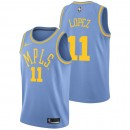 Brook Lopez - Hombre Los Angeles Lakers Nike Classic Edition Swingman Camiseta Ventas Baratas Sevilla