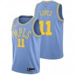 Brook Lopez - Hombre Los Angeles Lakers Nike Classic Edition Swingman Camiseta Ventas Baratas Sevilla