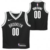 Brooklyn Nets Nike Icon Replica Camiseta de la NBA - Personalizada - Niño En Venta