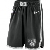 Brooklyn Nets Nike Icon Swingman Pantalones cortos - Adolescentes Outlet Barcelona