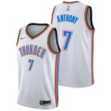 Carmelo Anthony #7 - Hombre Oklahoma City Thunder Nike Association Swingman Camiseta de la NBA Baratas Precio