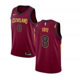 Channing Frye #8 Cleveland Cavaliers Granate Swingman Camiseta Precio Promocional