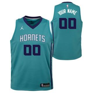Oficiales Charlotte Hornets Jordan Icon Swingman Camiseta de la NBA - Personalizada - Adolescentes
