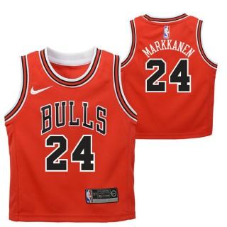Chicago Bulls Nike Icon Replica Camiseta de la NBA - Lauri Markkanen - Niño Baratas Outlet