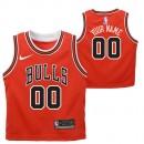 Chicago Bulls Nike Icon Replica Camiseta de la NBA - Personalizada - Niño Más Barata