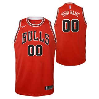 Chicago Bulls Nike Icon Swingman Camiseta de la NBA - Personalizada - Adolescentes Precio Al Por Mayor