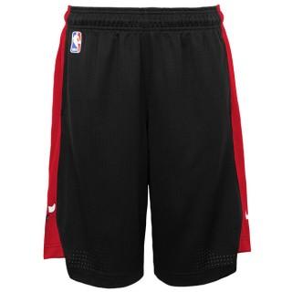 Chicago Bulls Nike Practise Pantalones cortos - Negro/University Rojo - Adolescentes Ventas Baratas Mallorca