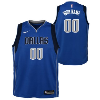 Dallas Mavericks Nike Icon Swingman Camiseta de la NBA - Personalizada - Adolescentes Baratas Precio