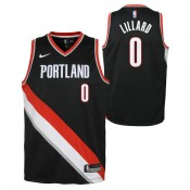 Damian Lillard - Adolescentes Portland Trail Blazers Nike Icon Swingman Camiseta de la NBA Precio Promocional