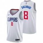 Danilo Gallinari - Hombre Los Angeles Clippers Nike Association Swingman Camiseta de la NBA Madrid Online