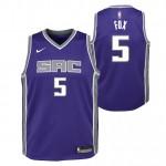 De Aaron Fox - Adolescentes Sacramento Kings Nike Icon Swingman Camiseta de la NBA Venta españa