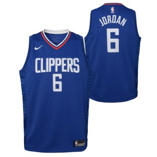 DeAndre Jordan #6 - Adolescentes Los Angeles Clippers Nike Icon Swingman Camiseta de la NBA Baratos