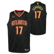Baratas Dennis Schroder - Adolescentes Atlanta Hawks Nike Icon Swingman Camiseta de la NBA