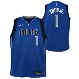 Moda Dennis Smith Jnr - Adolescentes Dallas Mavericks Nike Icon Swingman Camiseta de la NBA