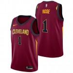 Moda Derrick Rose - Hombre Cleveland Cavaliers Nike Icon Swingman Camiseta de la NBA