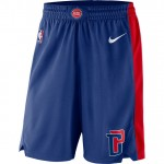 Detroit Pistons Nike Icon Swingman Pantalones cortos - Adolescentes Ventas Baratas Barcelona