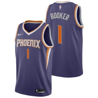 Devin Booker - Hombre Phoenix Suns Nike Icon Swingman Camiseta de la NBA Codigo Promocional