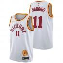 Domantas Sabonis - Hombre Indiana Pacers Nike Classic Edition Swingman Camiseta Ventas Baratas Galicia