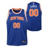 Enes Kanter - Adolescentes New York Knicks Nike Icon Swingman Camiseta de la NBA Codigo Promocional