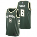 Eric Bledsoe - Hombre Milwaukee Bucks Nike Icon Swingman Camiseta Baratas Originales
