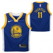 Golden State Warriors Nike Icon Replica Camiseta de la NBA - Klay Thompson #11 - Niño Baratas
