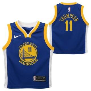 Golden State Warriors Nike Icon Replica Camiseta de la NBA - Klay Thompson #11 - Niño Baratas