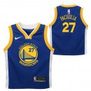 Moda Golden State Warriors Nike Icon Replica Camiseta de la NBA - Zaza Pachulia - Niño