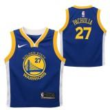Moda Golden State Warriors Nike Icon Replica Camiseta de la NBA - Zaza Pachulia - Niño