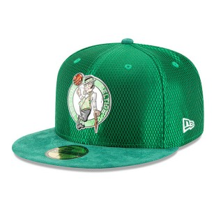 Nuevo Gorra Boston Celtics New Era 2017 Official On-Court 59FIFTY Fitted Cap