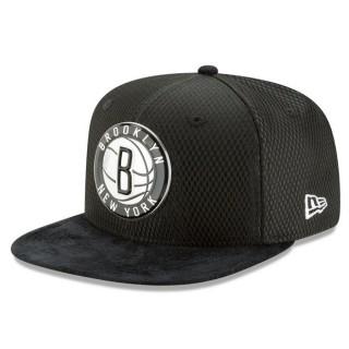 Gorra Brooklyn Nets New Era 2017 Official On-Court 9FIFTY Snapback Cap En Madrid