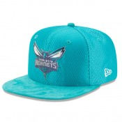 Gorra Charlotte Hornets New Era 2017 Official On-Court 9FIFTY Snapback Cap Comprar en línea