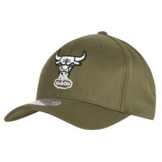 Gorra Chicago Bulls Hardwood Classics Olive Team Logo Snapback Cap Madrid Precio