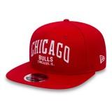 Gorra Chicago Bulls New Era Felt Script 9FIFTY Snapback Nuevo