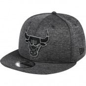 Gorra Chicago Bulls New Era Graphite Team Logo 9FIFTY Snapback Cap Descuento