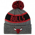 Gorra Chicago Bulls New Era Marl Pom Knit Ventas Baratas Oviedo