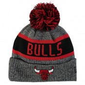 Gorra Chicago Bulls New Era Marl Pom Knit - Youth Ofertas