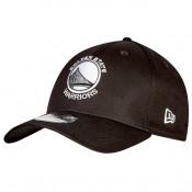 Nuevo Gorra Golden State Warriors Monochrome Team Logo New Era 39THIRTY Stretch Fit Cap