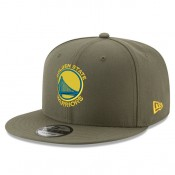 Gorra Golden State Warriors New Era Khaki Stone Team Logo 9FIFTY Snapback Cap Outlet Madrid