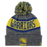 Gorra Golden State Warriors New Era Marl Pom Knit - Youth Oficiales