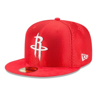 Gorra Houston Rockets New Era 2017 Official On-Court 59FIFTY Fitted Cap Codigo Promocional
