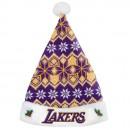 Gorra Los Angeles Lakers Knit Santa Sombrero al Mejor Precio