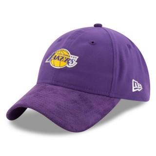Gorra Los Angeles Lakers New Era 2017 Official On-Court 9TWENTY Adjustable Cap Barcelona Tiendas