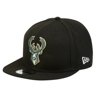 Moda Gorra Milwaukee Bucks New Era 9FIFTY On-Court Statement Edition Snapback Cap