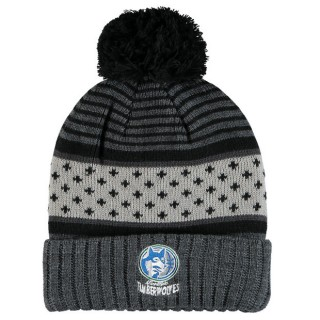 Gorra Minnesota Timberwolves Hardwood Classics Pom Knit Venta Al Por Mayor